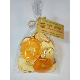 Еко Чіпси суміш (яблуко-25, груша-15, мандарин-10), 50г