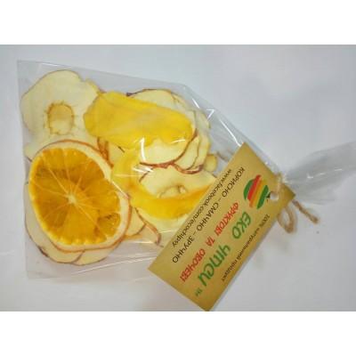 Еко Чіпси суміш (яблуко-35, апельсин-9, манго-6), 50г