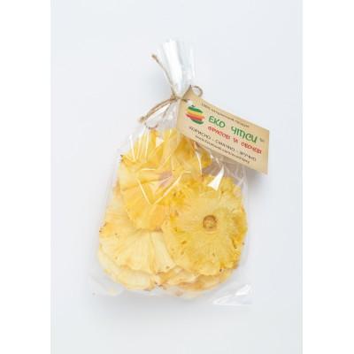 Еко Чіпси ананасові 50гр