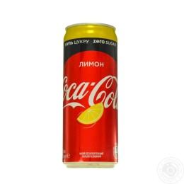 Кока-Кола Зеро Лимон 0,33
