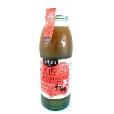 Натуральний сік Коник яблучно-вишневий 300мл