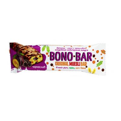 Батончик-мюслі с чорносливом Bono Bar 40гр
