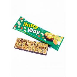 Батончик Nutty Way Мюслі горіховий з шоколадом 40гр