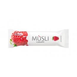 Батончик Tekmar Мюслі в йогурті - Полуниця 30гр