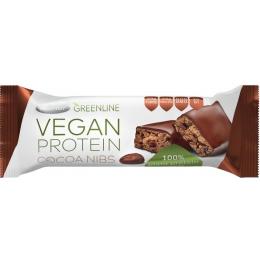 Протеїновий батончик Vegan з ароматом какао в темній глазурі 40г