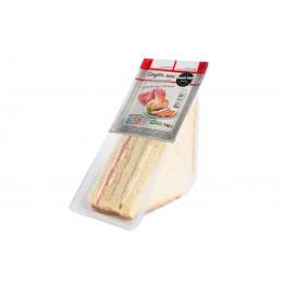 Сендвіч з копченою куркою і салямі 140 г