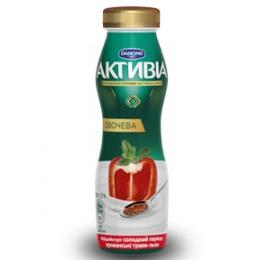 Активіа Біфідойогурт питний 1,3% 290г солодкий перець-прованські трави-льон