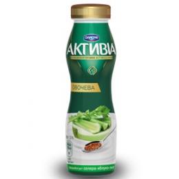 Активіа Біфідойогурт питний 1,3% 290г селера-яблуко-льон
