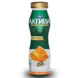 Активіа Біфідойогурт питний 1,3% 290г гарбуз-гарбузове насіння