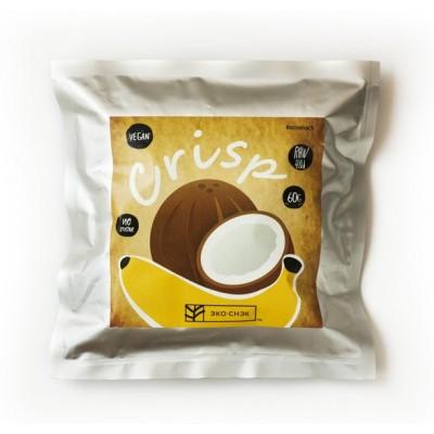 Крісп Eco-Snack банан з кокосом 60гр
