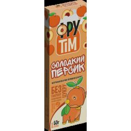 Цукерки яблучно-персикові ФРУТІM 50г