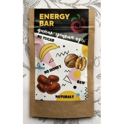 Енергетичний батончик Fruity Yummy фінік-волоський горіх 40 г.