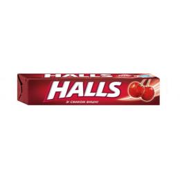 Льодяники Halls зі смаком вишні
