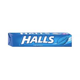Льодяники Halls зі смаком ментолу