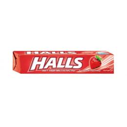 Льодяники Halls зі смаком полуниці