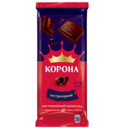 Екстрачорний шоколад «Корона» 85г