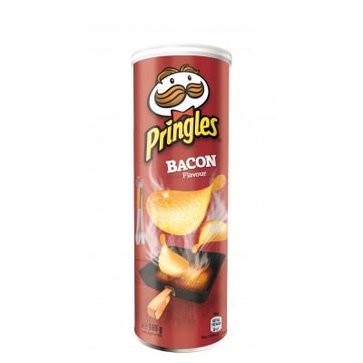 Чипси Pringles Bacon Бекон 165гр