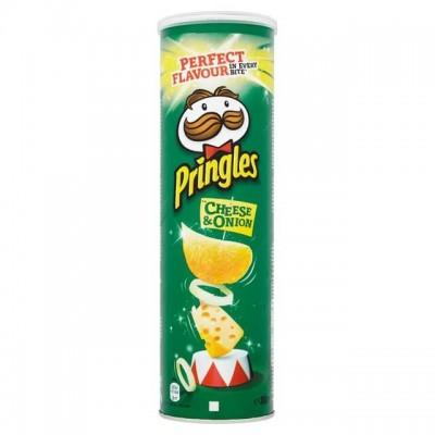 Чипси Pringles Сир-цибуля 165гр