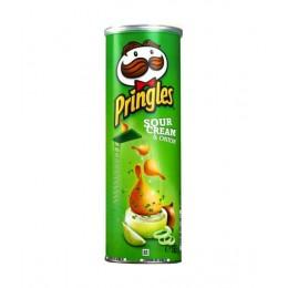 Чипси Pringles Sour Cream & Onion Сметана-цибуля 165гр