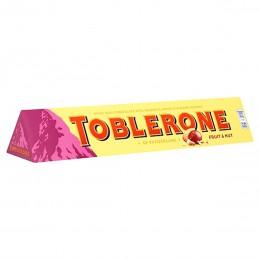 Шоколад Toblerone молочний з родзинками та нугою 100гр