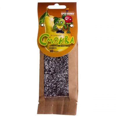Натуральна фруктова цукерка Spektrumix «Смоква грушева» 40г