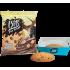 Bits Печиво з молочним шоколадом та горіховим кремом 50г
