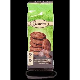 Jeneva Печиво з какао та шматочками молочного шоколаду 200г