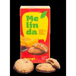 Печиво Melinda з апельсином та темним шоколадом 150гр