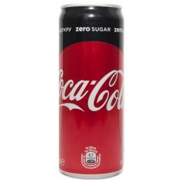 Кока-Кола Зеро 0,33л