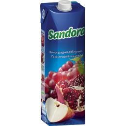 Виноградно-яблучно-гранатовий нектар Sandora 1000мл